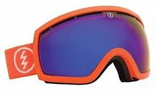 Electric EG2 Salmonella Ski Goggle, Bronze Blue Chrome Lens, Bag, Hard Case, New