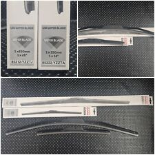 GENUINE TOYOTA AURIS WIPER BLADES FRONT WINDSCREEN HYBRID WIPERS 2010 - 2018