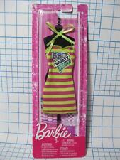 Barbie DOLL 59 STRIPE SPORTY GLAM DRESS OUTFIT SUNDRESS NEW NIP