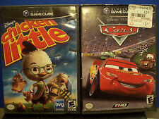 Disney's Cars & Chicken Little (Nintendo GameCube, 2006) Complete - Ships Fast!