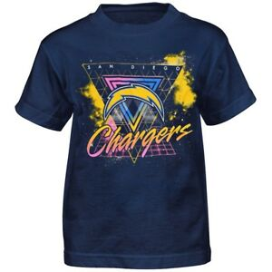 """San Diego Chargers Outerstuff NFL Youth Navy Blue """"Explosion"""" T-Shirt"""
