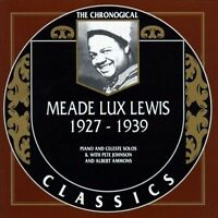 MEADE LUX LEWIS 1927-39 CLASSICS CD NEW SEALED LONG OUT OF PRINT
