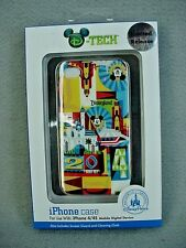 Disney Parks 2014 Mickey Mouse Disneyland Cell Phone Case iPhone 4/4S NEW