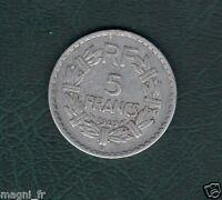 5 francs LAVRILLIER 1949 (Ref. 42)
