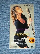 "MARIAH CAREY Japan Only 1990 Tall 3"" inch CD Single VISION OF LOVE"