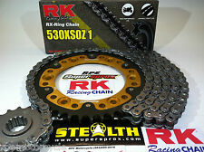 HONDA '06/07 CBR1000rr Quik Accel RK X-Ring 530 SUPERSPROX CHAIN & SPROCKET KIT