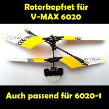 1x Rotorkopfset Tête De Rotor Set Blade Set jaune pour zB 6020 6020-1 Mini Heli V-MAX