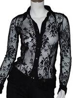 chemise noir femme MEXX taille européenne M ( T 38 )