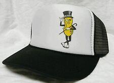 Mr. Peanut Trucker Hat Mesh Hat Snap Back Hat black