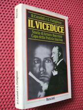 STORIA - IL VICEDUCE - ARTURO BOCCHINI CAPO DELLA POLIZIA FASCISTA -(1°ED.1987)-