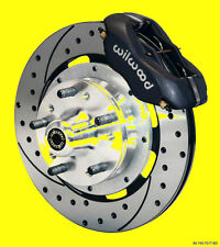 """Wilwood Ford Mustang Disc Front Brake Kit Brakes Vented Drilled Rotors 12"""""""