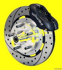 Wilwood Camaro Chevelle Nova Disc Brake Kit Brakes Drilled Slotted 12 Rotors Bk