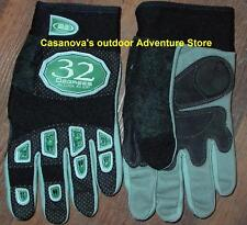 Paintball Gloves 32 Degrees Black Full Finger Xl, New On Closeout Sale $19.98