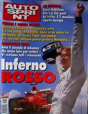Autosprint 33 1999 Hakkinen a ritmo mondiale. Barrichello e la Ferrari. Salo