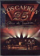 DVD + 2 CD SET LOS CAFRES 25 AÑOS DE MUSICA SEALED NEW 2013 LIVE
