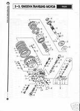 Kawasaki Hydraulic/Hydrostatic GM35VA Ring Gear