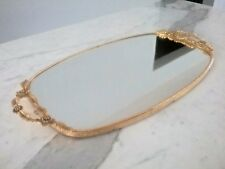 Vintage Large Matson Vanity Tray Trinket Jewelry Mirror