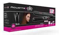 Rowenta SF3122E0 Plancha de pelo con keratina y turmalina elimina encrespamiento