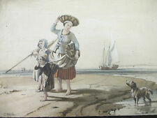 1840 Original Hand Colored Lithograph SIGNED CHARLES LOUIS MOZIN 7x10 70% OFF!!!