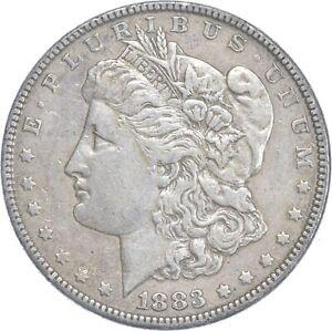 Early - 1883 Morgan Silver Dollar - 90% US Coin *075