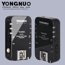 YONGNUO Wireless TTL Flash Trigger YN-622C for Canon 5DIII 1Ds 1D 50D 40D 30D