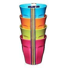 Kitchen Craft Colourworks Melamine Tumblers 225 Ml - Set of 4
