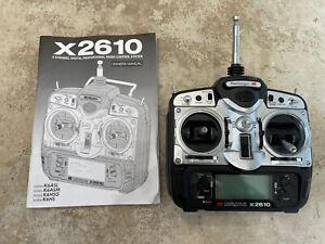 JR X2610 Transmitter 35mhz Mode 1 RC Plane NO RESERVE