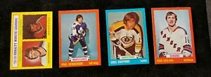 1973-74 Topps Hockey Singles #1 - #198**NRMT or better**FINISH YOUR SET**