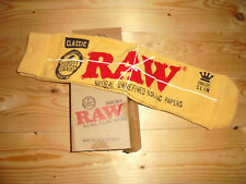 RAW natural rolling papers Socken socks merch unisex US 10-13/ EU 42-46