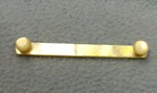 """Vintage Mother of Pearl Collar Bar Button Style 2 1/2"""""""