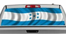 Truck Rear Window Decal Graphic [Flags / Honduras] 20x65in DC84808