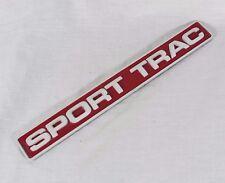 FORD EXPLORER SPORT TRAC EMBLEM 01-02 BACK TAILGATE OEM BADGE name symbol logo