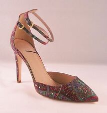 J Crew Collection Falsetto Silk Printed Pumps - size 7.5