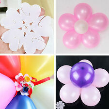 5Pcs Balloon Plum Clip Tie Filled Helium Air Balloons For Party Decor Supplies