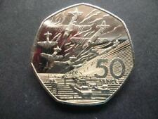 1994 BRILLIANT UNCIRCULATED FIFTY PENCE PIECE, NORMANDY LANDINGS 1994 50P COIN.
