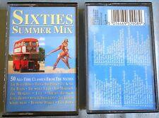 Sixties Summer Mix Cassette x 2 Various Artists Cassette Made in UK STAC 2908