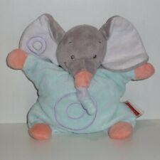 Doudou Eléphant Nattou - Bleu gris