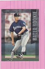 1997 DONRUSS Rated Rookie  MAKOTO SUZUKI RC  (Mariners)
