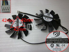 New For MSI N580GTX R6970 R7970 graphics dual fan PLA09215B12H 4-Pin12V 2 Ball