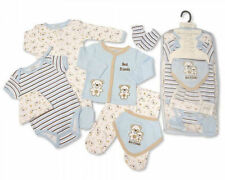 7 Piece Baby Boys Layette Clothing Gift Set Little Teddy Bear  by Nursery Time