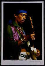 More details for jimi hendrix original gene anthony signed artist proof photograph with coa