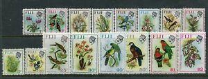 FIJI....  1971  birds and flowers  set to $2  mnh