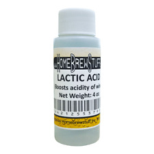 Lactic Acid 4oz Homebrewing, Home Brew Beer, Souring, Additive, Mash, Sparge, PH