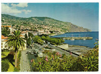 Funchal: Eastern View, Madeira, Portugal Rare Vintage Postcard Posted 02.08.81