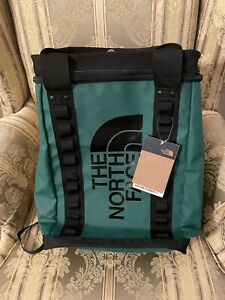 The North Face Explore Fusebox Backpack Tote 26L Green RARE Hiking Daypack ✅✅