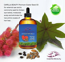 Castor Oil for skin, hair and scalp care, reduces hair loss and thicken eye lash