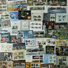 More details for 50 different great britain mini-sheets/souvenir sheets stamp collection