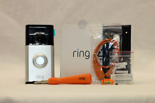 Ring Video Doorbell Satin Nickel 88RCC000FC000 New OPEN BOX