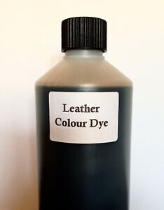 Sofa Leather Colourant Dye For Repair Recolouring faded scuffed damaged leather