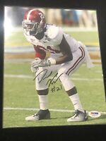 🔥Dre Kirkpatrick Autographed 8x10 Photo Alabama Crimson Tide PSA/DNA RARE🔥